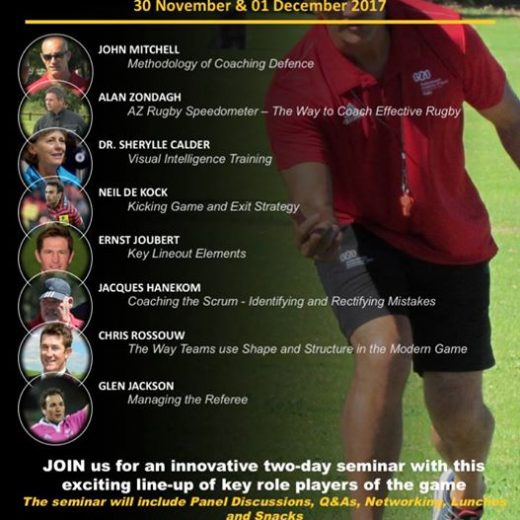 To all coaches! JOIN our exciting 2-day Coaches Seminar on the 30th November and…