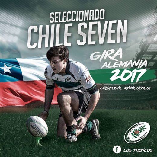 Well done Cristobal Mainguyague (Chile) and to Rugby Los Troncos! Amazing news to see…