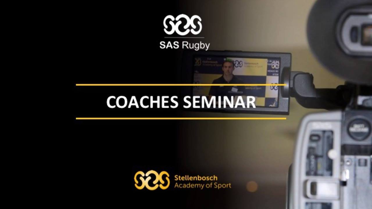 Highlights of our SAS Rugby Coaches Seminar