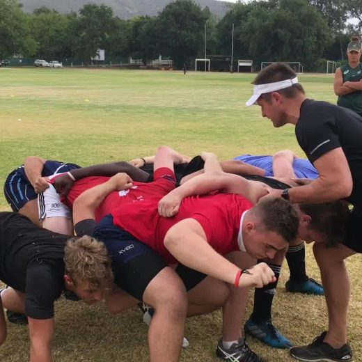 Solid scrum session to start the Tuesday with. #sasrii #sasrugby #sasrii2018 #tigerrugby #choiceofchampions Ernst…