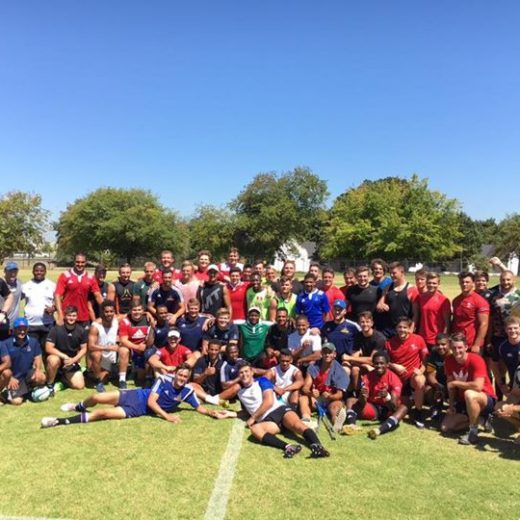 Great session today along with the Western Province Rugby Institute. It's been a good…