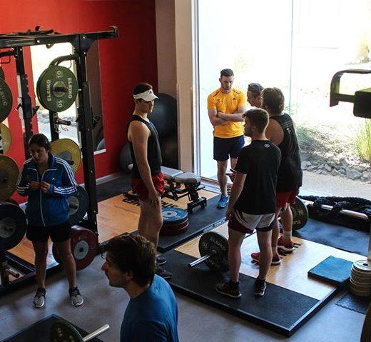 Thursday gym session