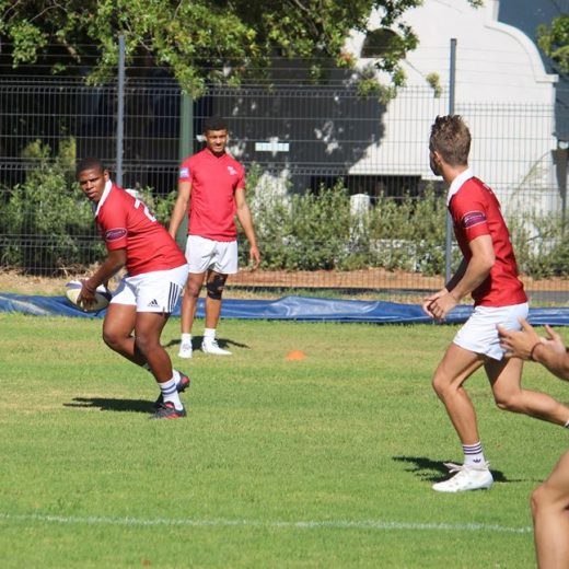 Monday started with a split session for #sasrii2019 Forwards focused in line-outs and backs…