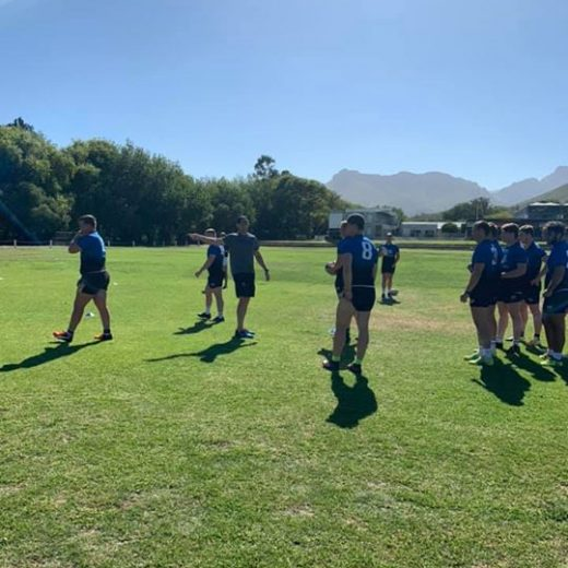 Ernst Joubert teaches the #sasrii2019 forwards more about line-outs. #sasrii #sasrugby #choiceofchampions