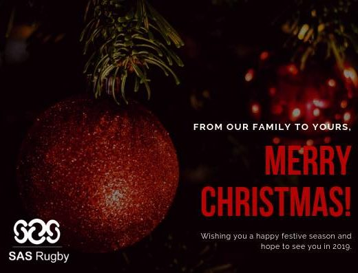 Best wishes from our family to yours! #choiceofchampions #sasperformance #sashp #sasrugby #sassevens