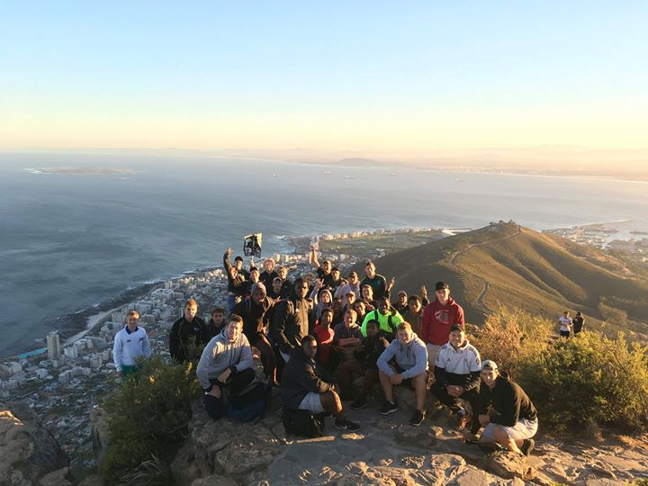 Early morning #LionsHead mountain mission before sunrise in Cape Town. #sasrii18