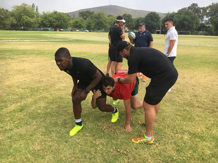 Photos from Tuesday's scrum session with coaches Jacques Hanekom Ernst Joubert and Frankie Horne…