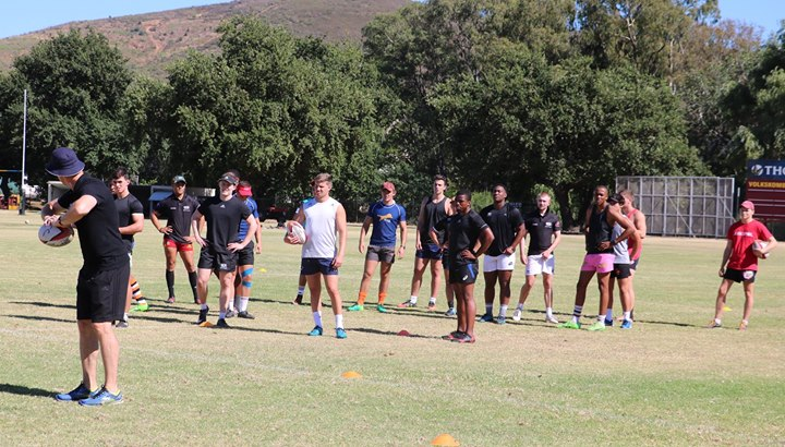 Photos from Thursday's SASRII and Tiger Rugby Africa session. Coaches Chris Rossouw and Corne…