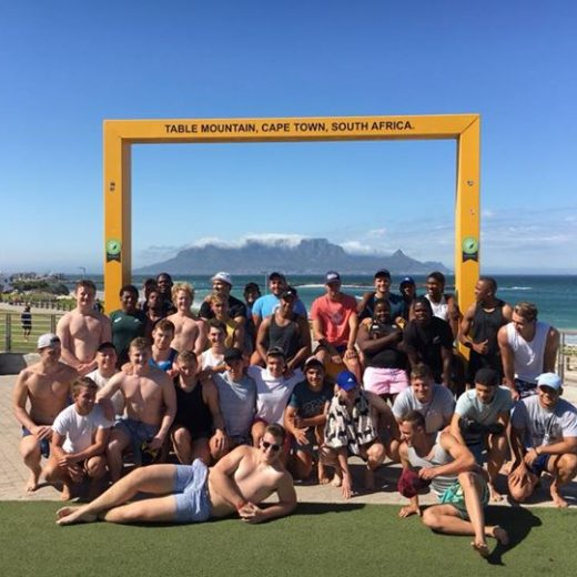 Team building day at Blouberg Strand! #sasrii18 #sas #tigerafrica #tigerrugby Tiger Rugby Ernst Joubert…