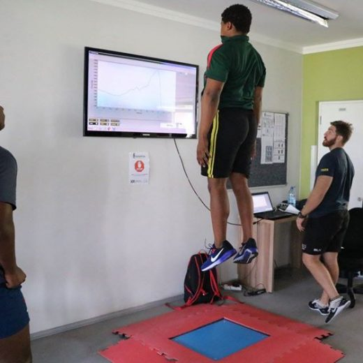Day 1 of testing for #SASRII2018 and Tiger Rugby Africa Sparta Science Ernst Joubert…