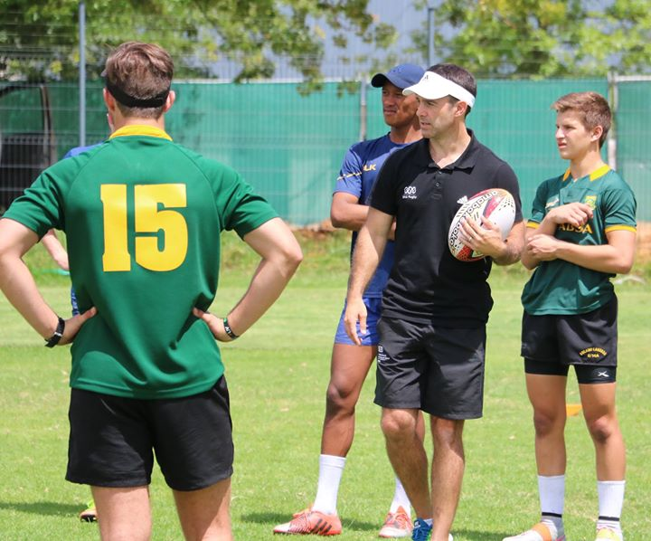 This morning's focus of Day 2 of the Position Specific Camp was on scrums…