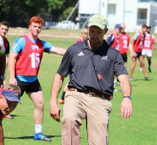 Defence session on Day 1 of our 2017 Position Specific Camp. Session led by…