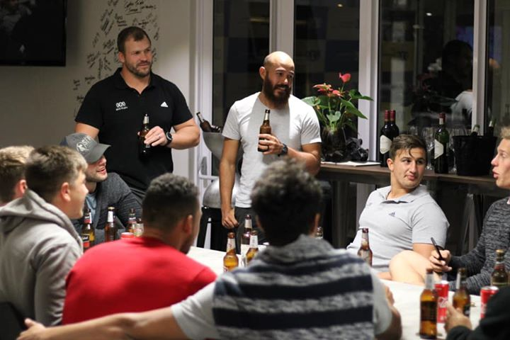 Great time had by all at the #sasrugbysevens end of year function. #sasperformance #choiceofchampions…